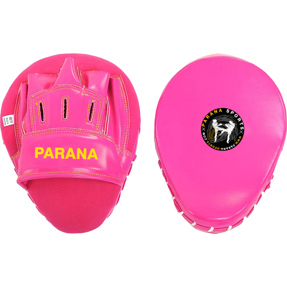 PARANA CURVED FOCUS MITTS PINK