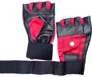 PARANA LIFTING GLOVES WRIST WRAP SUPPORT
