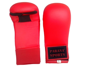 Red Blood Karate Mitts New Curved Design